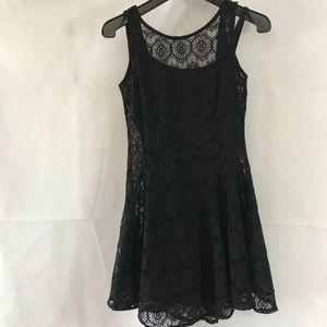 Charlotte Russe Black Lace Dress Size S